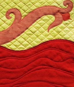 Red River Quilt Sample  Susan Dye