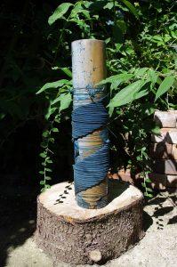 Plastic pipe bokami