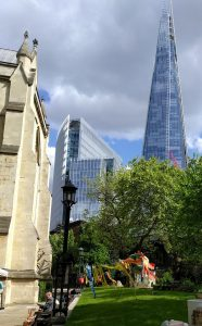 London Craft Week event at Southwark Cathedral with the London Weavers, Spinners and Dyers Guild