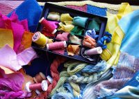 A wealth of options for natural colour and pattern on textile, yarn and thread