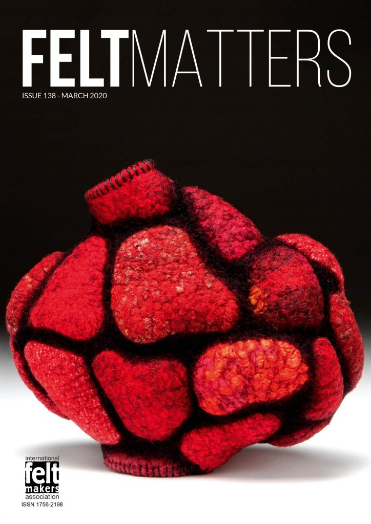 Cover of IFA magazine feltmatters issue 138