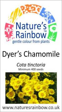 Dyer's Chanomile seed packet