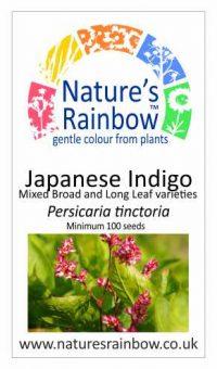 Japanse Indigo Seeds - Seedpacket mixed