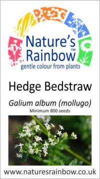 Hedge Bedstraw seed packet