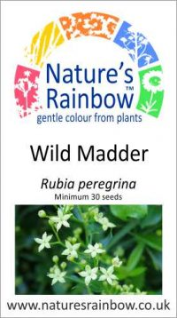 Wild Madder seed packet